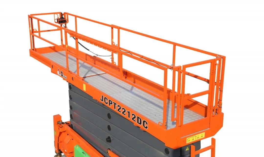 浙江鼎力22米纯电动JCPT2212DC剪叉式高空作业平台