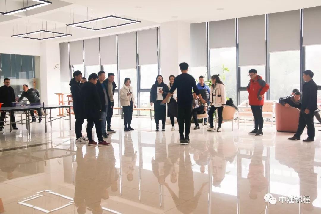 中建锦程跳绳比赛